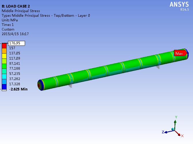 子弹管道分析设计校核