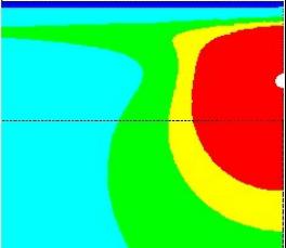 冻土区埋地管道温度场分析